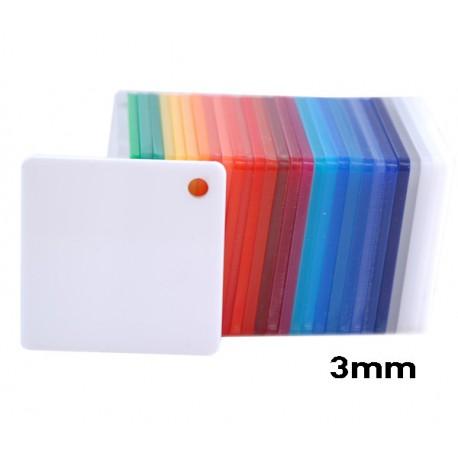Plexiglass Bianco Opaco