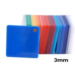 Plexiglass Blue