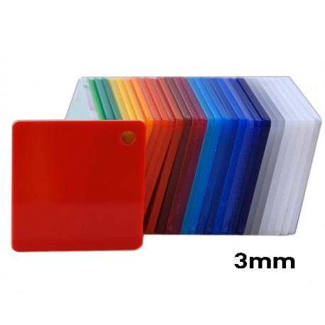 Plexiglass Red