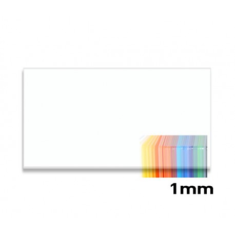 Plexiglass Clear 1mm