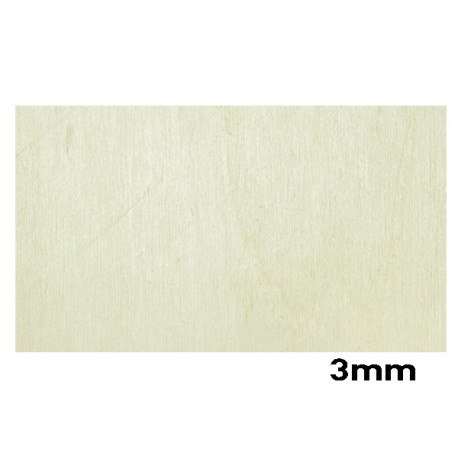Plywood Poplar 3mm