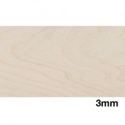 Birch Plywood 3mm