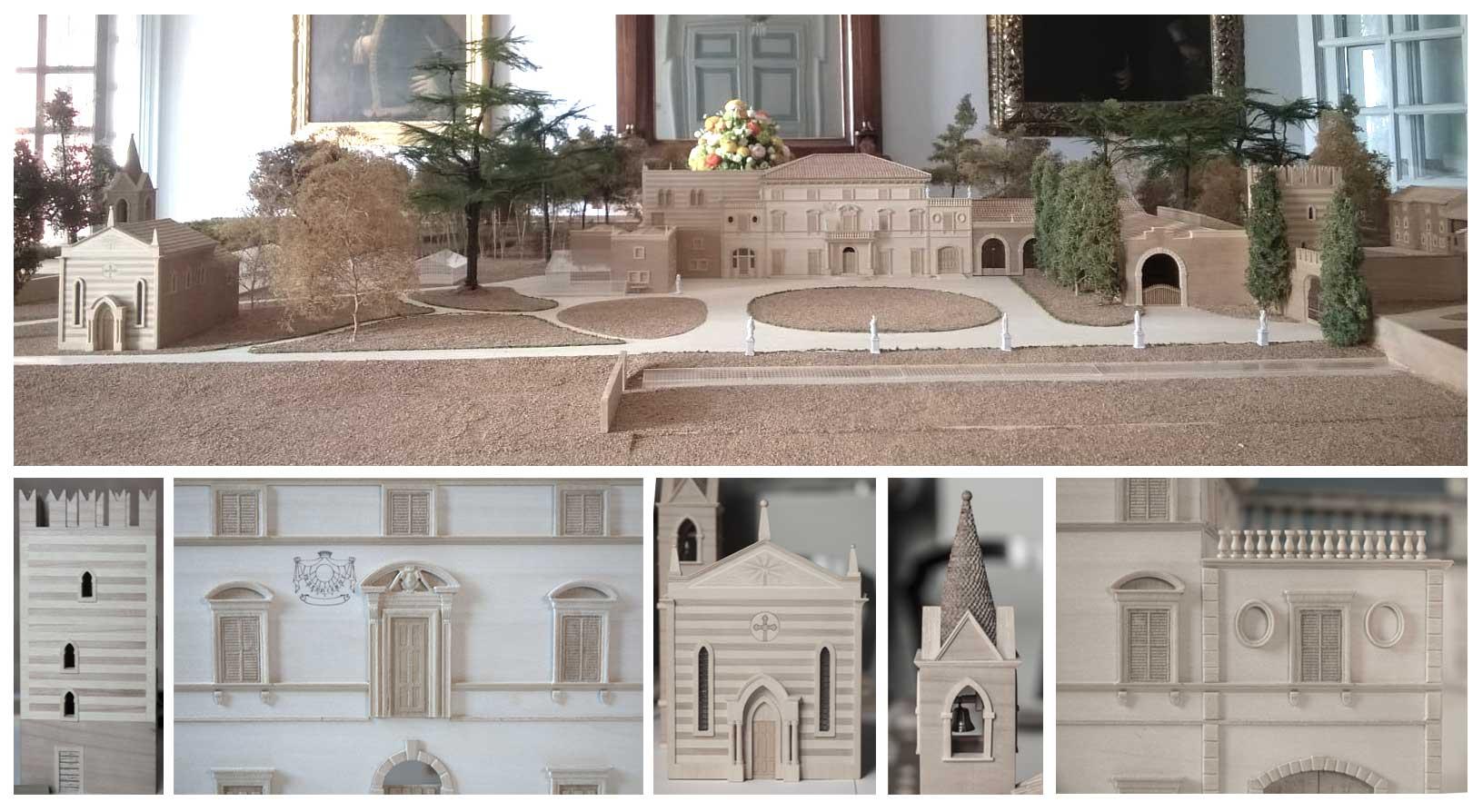 plastico architettonico legno